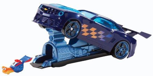 [Dreamworks Turbo Chevy Camaro Launcher Toy Vehicle Playset] (Turbo Launcher)