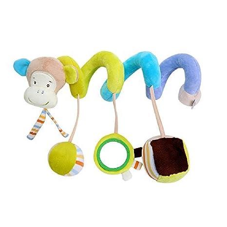 Achun Accesorios de Cuna para Cuna Infantil, Animal de Dibujos Animados Rattle Hangling Juguetes para Niños Carrito de bebé: Amazon.es: Juguetes y juegos