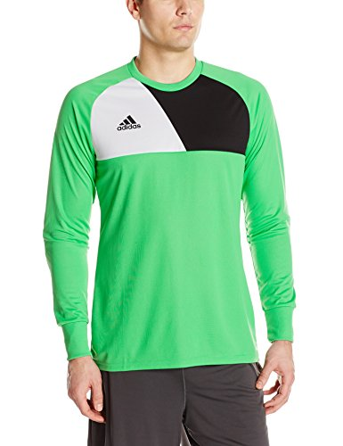 adidas Men's Soccer Assita 17 Goalkeeper Jersey, Energy Green, Medium