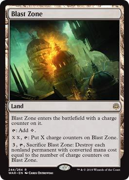 Magic Gathering Singles - Magic: The Gathering - Blast Zone - War of The Spark