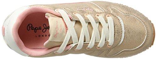 Pepe Jeans London Mädchen Sydney Metal Sneaker Pink (Pink)