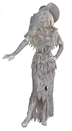 DISC0UNTST0RE Ghostly Gal Costume Halloween Costume - Most Adults