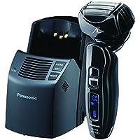 Panasonic ES-LA93-K ARC4, rasuradora eléctrica para hombre, 4 cuchillas con cabezal giratorio Multi-Flex y motor dual, limpieza automática premium y estación de carga incluida, operación en húmedo o en seco.