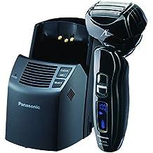 Panasonic ES-LA93-K, ARC4Electric Razor, Men 's 4-Blade con cabezal pivotante Multi-Flex y Dual Motor, Premium automática Clean & Charge Station incluido, MOJADO o seco Operación