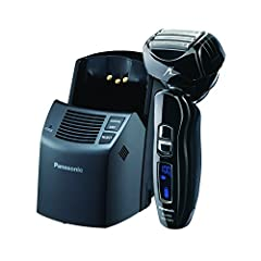 The four-blade, dual-motor Panasonic Arc4 ES-LA93-K men's wet/dry electric shaver is designed for close, precision shaving. Its four Panasonic Nanotech blades are honed to a 30° edge for exceptional durability and sharpness. And its high-velo...