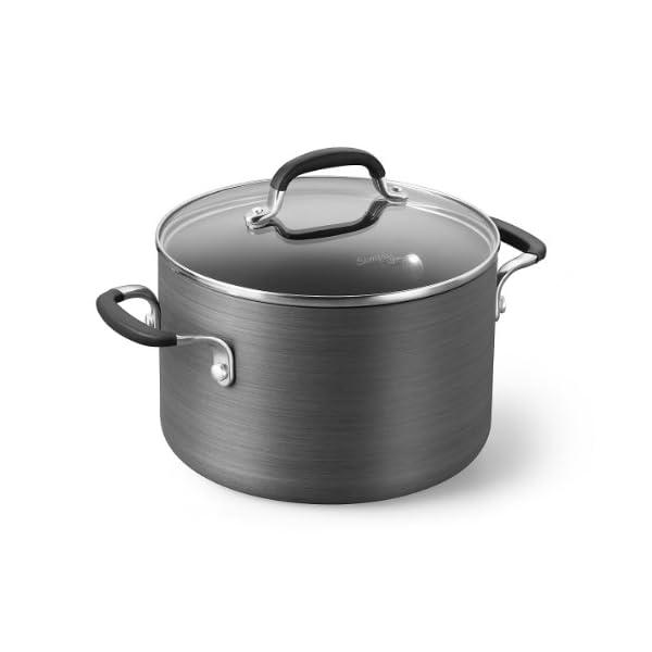 Calphalon Simply Pots and Pans Set, 10 Piece Cookware Set, Nonstick 2