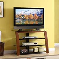 Whalen Furniture TV Stand for Flat-Panel TVs Up to 50 or Tube T