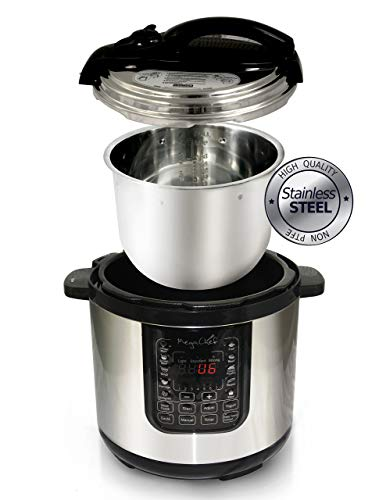 MegaChef 8 Quart Digital Pressure Cooker with 13 Pre-set Multi Function Features by Megachef (Image #2)
