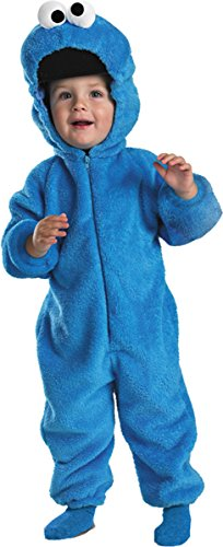 Cookie Monster Deluxe Costume - Baby 12-18 -