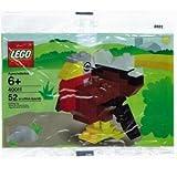 LEGO Seasonal Exclusive Mini Figure Set #40011 Turkey Bagged
