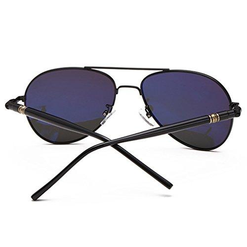 nbsp;para Full plata rnow Gafas estilo Plateado de Premium nbsp;– Aviator de Classic hombre café marrón militar Mirrored sol Br1tqxP1