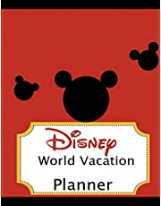 Disney World Vacation Planner: Travel Planning Journal Disney Planner Trip Planner  8.5 x 11 inch For Adults and Kids