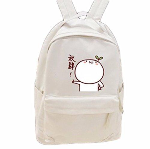 rare Schultertasche Tasche Shoulder Bag Rucksack reisetaschen Bräunen Weiß Natsume Yuujinchou Book of friend new