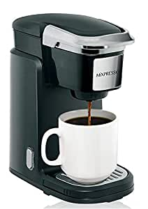 57eb4c013140c Mixpresso - Single Serve Coffee Maker | Compatible with K-Cups | Quick Brew  Technology with Auto Shut-Off | One Touch Function | Programmable Features  ...