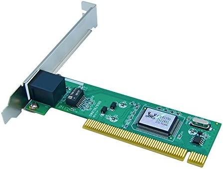 Jeirdus RTL8139D 8239D 10//100M RJ45 Ethernet Network LAN PCI Wired Network Card Adapter 10//100Mbps NIC