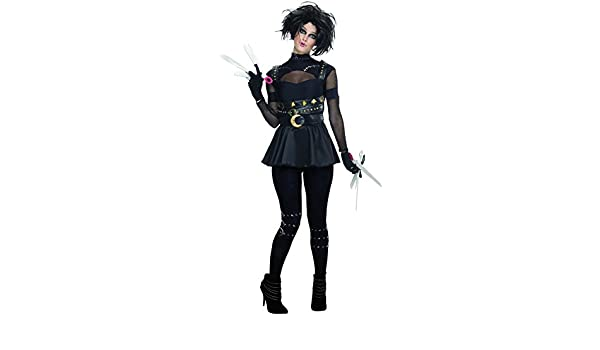 Womens Miss Scissorhands Fancy Dress Costume Large: Amazon.es: Juguetes y juegos