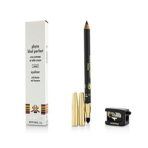 - Sisley Phyto Khol Perfect Eyeliner with Blender and Sharpener, No.3 Steel, 1.2 g/0.04 Ounce