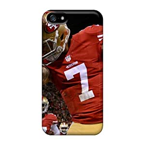 ZGYlV8928gbKcJ Case Cover Protector For Iphone 5/5s San Francisco 49ers Kapernick 7 Case