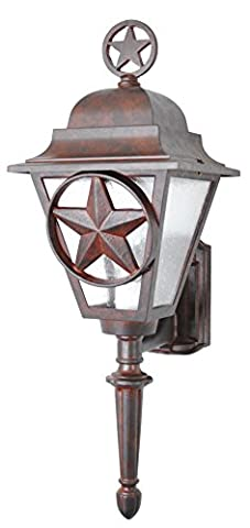 Melissa Lighting Outdoor Wall Mount LS1774 Western from Lone Star Series Collection in (Lone Star Porch Light)