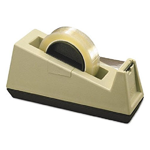 Heavy-Duty Weighted Desktop Tape Dispenser, 3