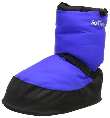 So Danca Damen Ac13 Warm Up Boots Blau (Royal Blue)
