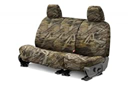Covercraft SeatSaver Second Row Custom Fit Seat Cover for Select Ford F-250 Super Duty/Ford F-350 Super Duty Models -  True Timber Polyester (Flooded Timber)