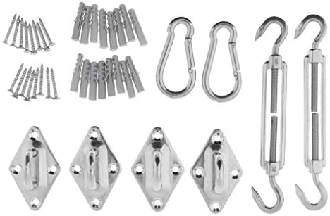 SM SunniMix ケーブル手すり金具 ネジ 拡張ネジ 登山用バックル ターンバックル 固定バックル 全2サイズ