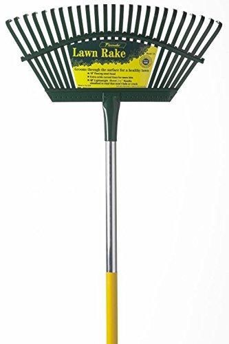 Flexrake 1A 19'' Flex Steel Head 4' Handle Leaf Rake by Flexrake