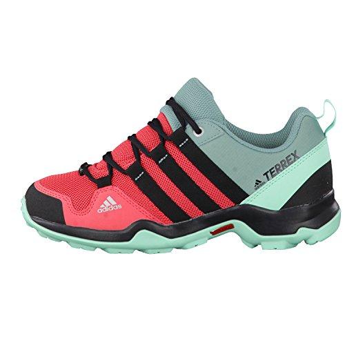 Adidas Terrex Ax2r Cp K, Chaussures de Randonnée Mixte Enfant, Rose (Rostac/Negbas/Versen), 36 EU