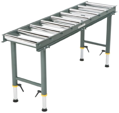 Shop Fox D2271 Heavy Duty 9 Roller Table Buy Online In