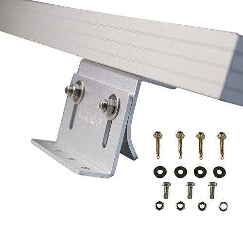 Cheap  Renogy Solar Panel Mounting Curved Z Bracket - Set of 4 for..