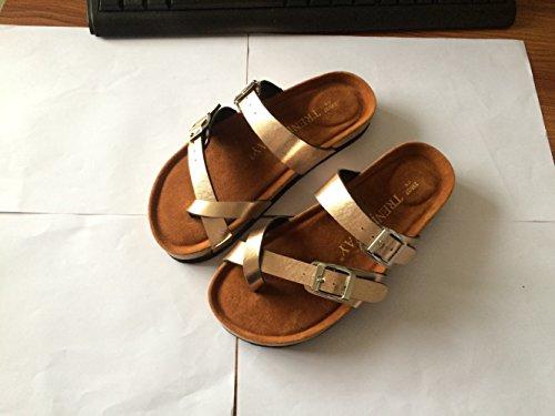 XING GUANG Chaussures Confortables De Plage De Pantoufles De Li