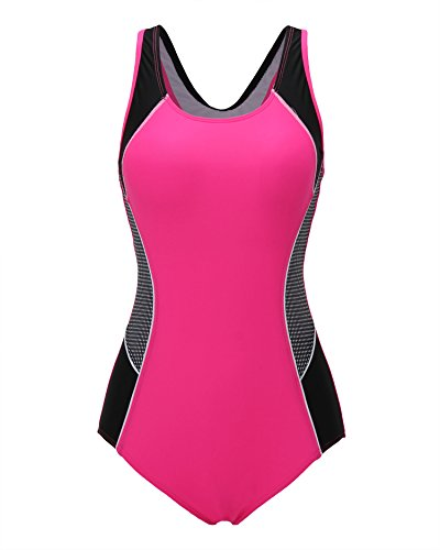 relibeauty-womens-color-block-one-piece-bathing-suit-0-2-rose-red