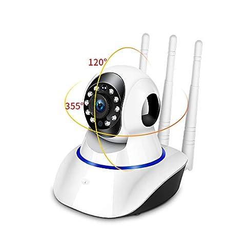 Monitor Camara de Vision Nocturna IP 720P Seguridad del Hogar Inalambrica WIFI