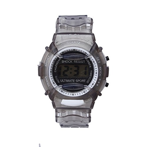 SMTSMT Students Waterproof Digital Wrist Sport Watch - Grey