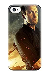 Iphone 4/4s Case, Premium Protective Case With Awesome Look - Gerard Butler In Olympus Has Fallen