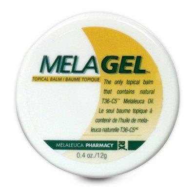 Melaleuca MelaGel Topical Balm .4oz Disk