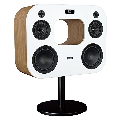 Fluance Fi70W Three-Way Wireless High Fidelity Music System with Powerful Amplifier & Dual 8' Subwoofers (Lucky Bamboo)