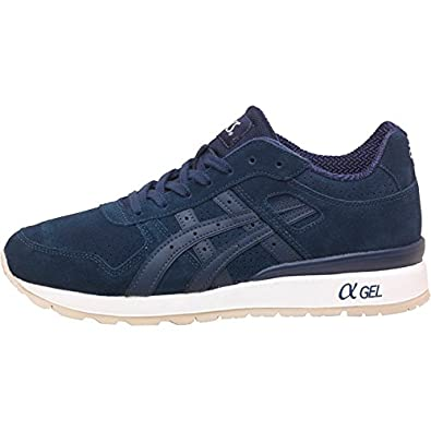 on sale ca7ed d0086 Mens Asics Tiger GT II Premium Suede Trainers Navy Guys ...