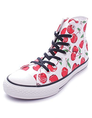 Mixte Canvas Toile High Graphic Hi Chuck Sneaker Taylor Bianco Blanc Converse Adulte 1FwqAXS