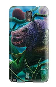 Shilo Cray Joseph's Shop Hot 3730040K78019923 Protection Case For Galaxy Note 3 / Case Cover For Galaxy(creature)