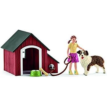 Schleich Dog Kennel Playset