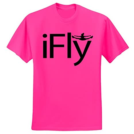 Chosen Bows Hot Pink iFly T-Shirt Cheer Factory N5-R95S-HXHM