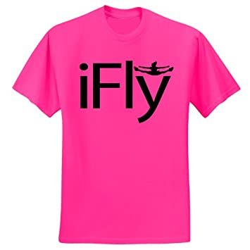 Amazon.com: Chosen Bows Hot Pink iFly T-Shirt: Sports & Outdoors