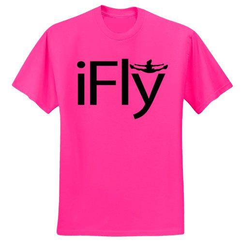 chosen-bows-hot-pink-ifly-t-shirt-black-print-youth-large