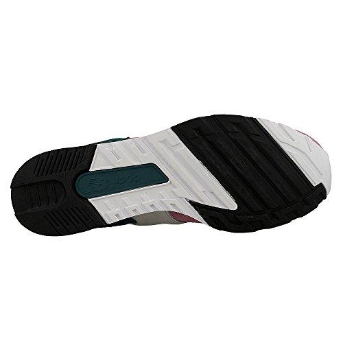 New Balance, Sneaker uomo Bianco-verde-rosa