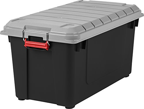 IRIS USA, Inc. IRIS 82 Quart Weathertight Storage Box, Store