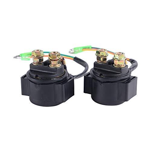 (2 Pack Starter Relay Solenoid For HONDA TRX400EX SPORTRAX 2004-2007)