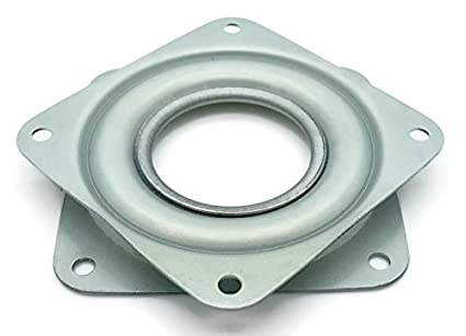 One Square 3u0026quot; Inch Lazy Susan Turntable Bearing   5/16u0026quot; ...