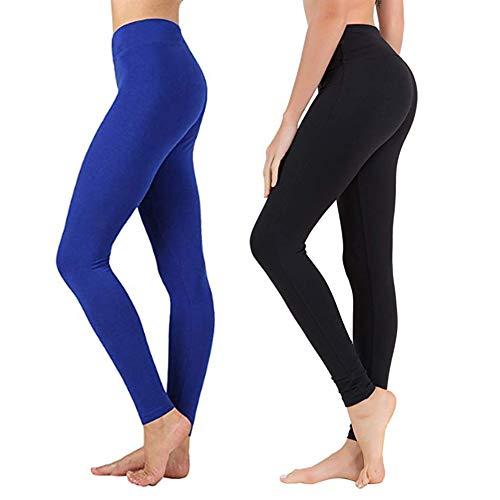 - 41xo7HeGf8L - Leggings for Women – Soft Athletic Workout Pants – Reg & Plus Size